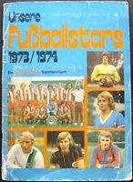 100% COMPLETE GERMANY BERGMANN BUNDESLIGA 1973-74 STICKER ALBUM
