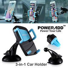 Universal 360°Car Holder Windshield /Air Vent Mount Bracket for Phone iPhone GPS