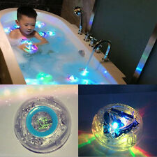 Bathroom LED Light Toys Kids Color Changing Toys Waterproof In Tub Bath Time Toy
