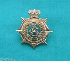 "Victorian Army Service Corps ""QVC"" - 100% Genuine British Military Cap Badge"