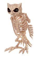 Skeleton Owl Halloween Decoration Prop NEW