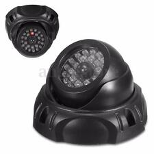 Newest Dummy Dome Security Camera Fake LED Flashing Blinking CCTV Surveillance