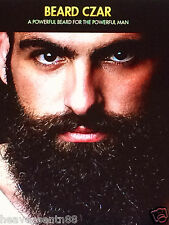 Beard Czar Facial Hair Growth Complex - GROW A Full Viking BEARD Reduce Gray 30