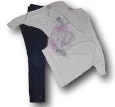 Lotto stock completo leggings BENETTON maglia XKE bimba bambina 10/11 anni