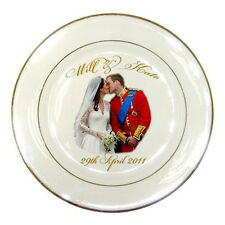 Prince William and Catherine / Will and Kate Royal Wedding Porcelain Plate #4