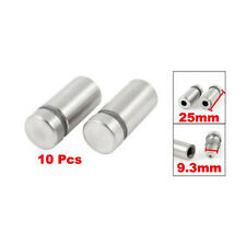 10x Stainless Stand off Bolts Mount Standoffs Sign Advertisement Fixings Gift SP