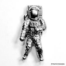 Astronaut Pin Brooch Badge - Stunning Detail -UK Handmade Space Moon Exploration