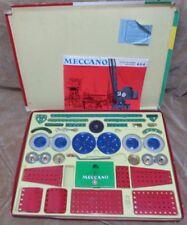 MECCANO NO. 4 -BOX -Intrusctions -MADE IN ENGLAND -CIRCA 1960s-COMPLETE?? RARE