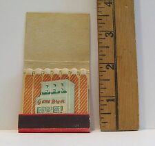 VINTAGE BUILDING RED SALESMAN SAMPLE ADVERTISING FEATURE MATCHBOOK