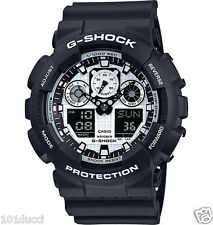 """BRAND NEW"" Casio-Watch G Shock #GA100BW-1A"