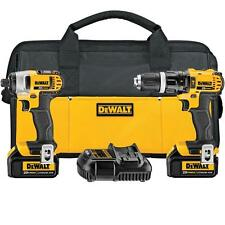 DEWALT 20V MAX Li-Ion Hammer Drill and Impact Driver Combo Kit DCK285L2 New