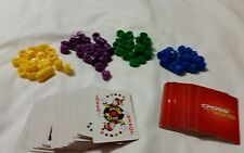 Cross Ways Board Game Replacement Parts Playing Cards, Markers Replacement Parts