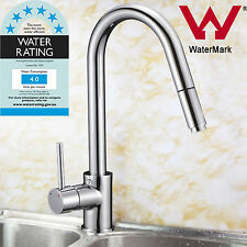 Kitchen Sink Swivel Pull Out Spout Basin Vanity Shower Mixer Tap Faucet Chrome