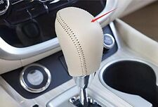 Genuine Leather Shift Gear Knob Cover For Nissan Murano 2015 2016 2017