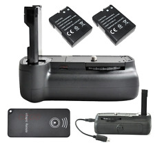 Battery Grip For Nikon D3100 D3200 D5100 + 2 Decoding EN-EL14 battery +IR Remote