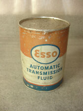 Old Vtg Collectible Esso Automatic Transmission Fluid Full Can One QT. USA