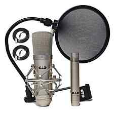CAD MIC GXL2200SP Studio Recording Pack Condenser Mics with 25' XLR Cables