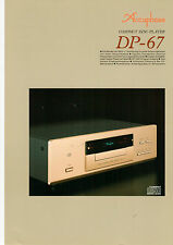 Faltblatt Accuphase DP-67  B567