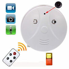 HD DV DVR SPY Hidden Remote Camera Smoke Detector Motion Detection 1280*960
