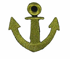 Anchor Iron Sew Embroidered Patch Badge Patches Fancy Badges Fabric Logo #56