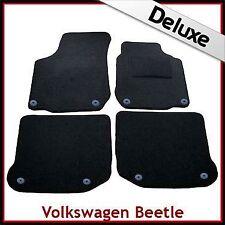 VW New Beetle 1998 - 2011 Round Eyelets Tailored LUXURY 1300g Carpet Car Mats
