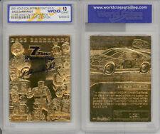 2001 EARNHARDT 23K GOLD CARD * 7-TIME NASCAR CHAMPION * GRADED GEM-MINT 10