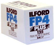 Ilford FP4 Plus 35mm 125 ISO Black & White Camera Film 24 exposure - PACK OF 3