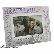 Glass Photo Frame Special Mum Christmas Gifts Idea For Her Mother FG573M