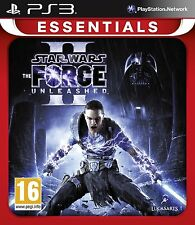 Star Wars The Force Unleashed II 2 Essentials PS3 Playstation 3 Brand New Game
