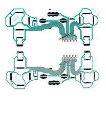 PS3 Playstation 3 Controller Flexible Flex Ribbon PCB Circuit Contact Pad Board