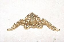 BRASS CORNER SPANDREL FOR TALL CLOCKS NEW CLOCK PARTS A
