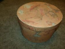 NICE VINTAGE WOMEN'S HAT BOX