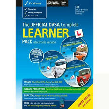Official DVSA Complete Learner Pack (DVD 2015, 3-Disc) Driving & Theory Test New