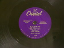 "GENE VINCENT Bluejean Bop / Who Slapped John Capitol 3558 10"" 78 rpm"