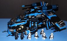 LEGO® brick STAR WARS™ REBELS Custom 7676 BLACK SHADOW IMPERIAL GUNSHIP + 7 figs