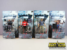 World War Z Gerry Lane, Paramedic, Special Forces and Civilian Zombie Figure Set