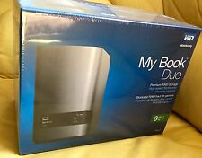 WESTERN DIGITAL MY BOOK DUO 6TB DUAL-DRIVE RAID STUDIO EDITION EXTERNAL STORAGE