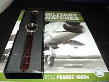 Eaglemoss Military Watches  Issue 36 - French Naval Pilots 1960s.