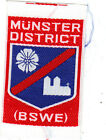Boy Scout Badge Ext MUNSTER DISTRICT( B S W E)