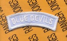 US Army 88th Infantry Division BLUE DEVILS tab arc patch D