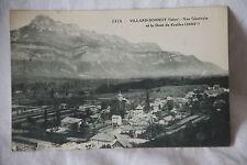 Cpa villard bonnot (Isère - 38) vue générale et dent de Crolles 1922