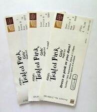 TICKLED PINK MEMORABILIA - Girls Night In Ticket Stub(s) Breast Cancer Charity