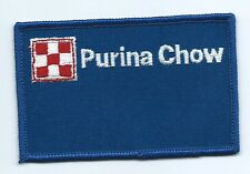 Purina Chow animal feed advertising patch 2-1/2 X 3-7/8 #1116