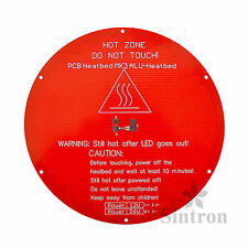 [Sintron] Kossel Heatbed Round Alu MK3 Heated Bed for Delta Rostock Stampante 3D