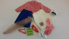 VINTAGE IDEAL TAMMY DOLL CLOTHES, SORORITY SWEETHEART OUTFIT, COMPLETE & NICE!!