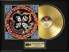 Kiss 'Rock and Roll Over' Gold Lp Lot 1550229
