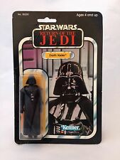 Star Wars 1983 Made in Mexico DARTH VADER - Return Of The Jedi 77 Back Kenner