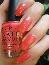 OPI Nail Polish A TRUE AB-ORIGINAL NL A50 Coral DISCONTINUED RARE VHTF Full Size