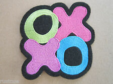 Noughts And Crosses Woven Cloth Patch Badge