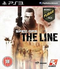 Juegos Ps3 ** Spec Ops The Line incluye Fubar Pack - 1st Class Delivery